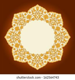 Traditional Pattern - Persian - Turkish - Arabesque - Islamic - East European