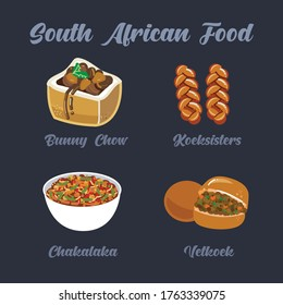 Traditional South African Food - Set 2