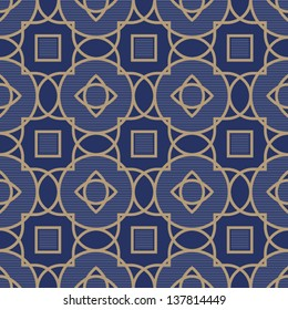 Traditional strict pattern with a geometric ornament. Men's fashion.