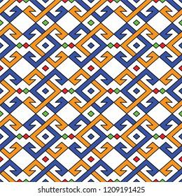 traditional turkish carpet pattern