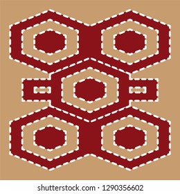 traditional turkish carpet pattern