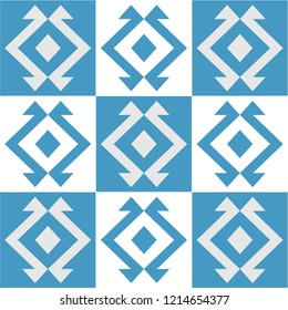 traditional turkish carpet pattern, vector