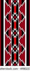 Traditional Weaving Folk Arabian Sadu Style Pattern Rug