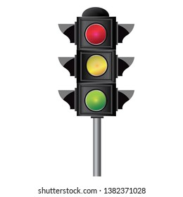Traffic control signals Road Safety Yellow Red Green Light Traffic Warnings