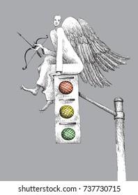 Traffic controller angel