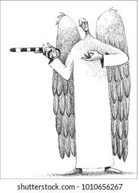 Traffic controller angel destiny