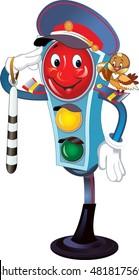 traffic light traffic controller