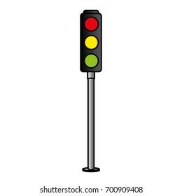 traffic light sign icon
