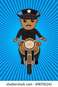 Traffic Police on Bike