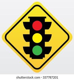 Traffic sign .light traffic sign.