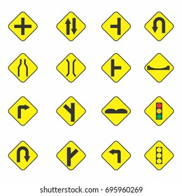 traffic sign symbol