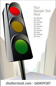 Traffic signal - Stop