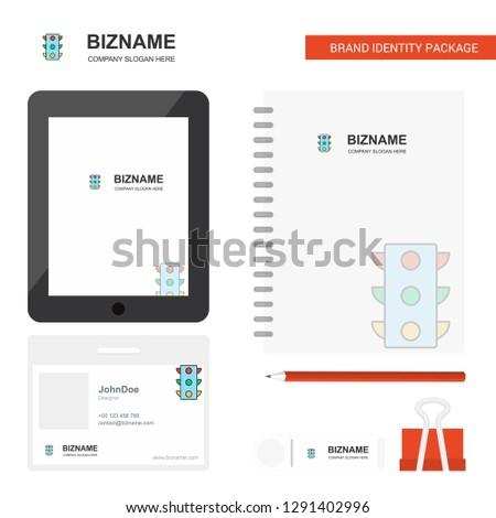 Traffic Signals Business Logo Tab App Stock Vector (Royalty Free