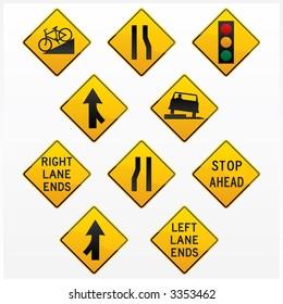 Traffic signs (Vector)