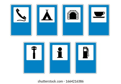 Traffic Signs Vector Editable Road Highway