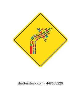 Traffic Signs,right,vector