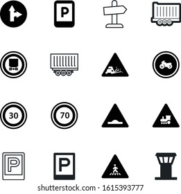 traffic vector icon set such as: rectangular, gate, air, unevenness, chippings, artificial, ride, turn, graphic, notice, image, gravel, aircraft, prohibited, motorbike, terminal, steel, jet, flight