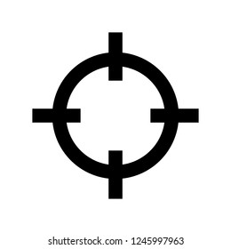 traget glyphs icon