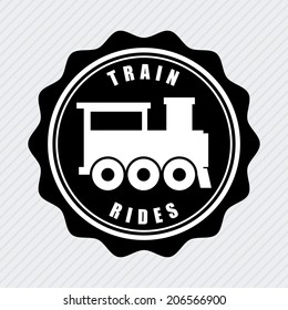 train design over white background vector illustration