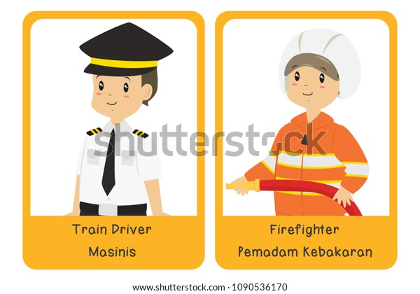 graphic about Firefighter Printable referred to as Teach Driver Firefighter Printable Occupation Bilingual