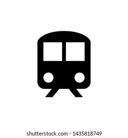 Train icon trendy design template
