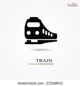 Train icon.train.vector illustration.