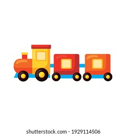 train kids toy isolated icon