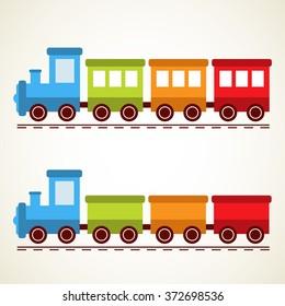 train and rails set