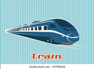 TRAIN, RAILWAY VECTOR