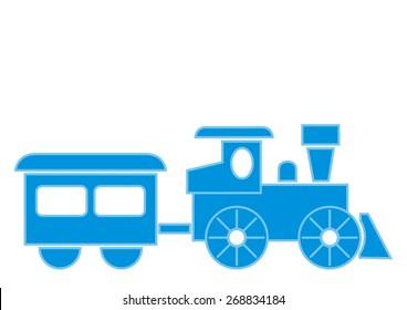 train set, vector icon