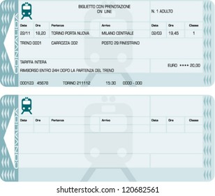 train ticket