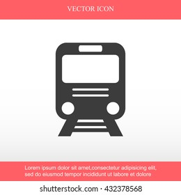 Train vector icon