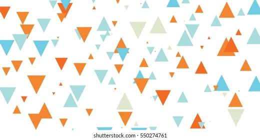 Traingle  pattern vector illustration