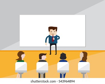 Training or business course