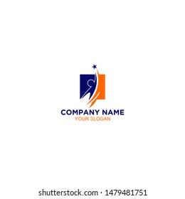 Training Career Logo Design Vector