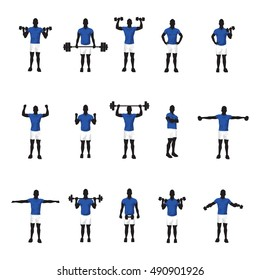 training group blue