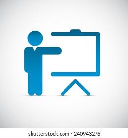 Training icon background