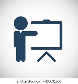 Training icon.Business Training Icon.