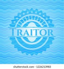 Traitor water emblem.