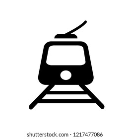 Tramway icon. Trendy Tramway logo concept on white background from Transportation collection. Suitable for use on web apps, mobile apps and print media.