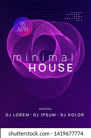 Trance event. Commercial discotheque brochure template. Dynamic gradient shape and line. Neon trance event flyer. Techno dj party. Electro dance music. Electronic sound. Club fest poster.