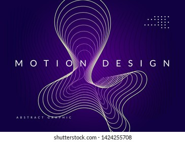 Trance event. Dynamic fluid shape and line. Trendy discotheque cover template. Neon trance event flyer. Techno dj party. Electro dance music. Electronic sound. Club fest poster.