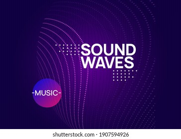 Trance event. Dynamic fluid shape and line. Curvy concert banner design. Neon trance event flyer. Techno dj party. Electro dance music. Electronic sound. Club fest poster.