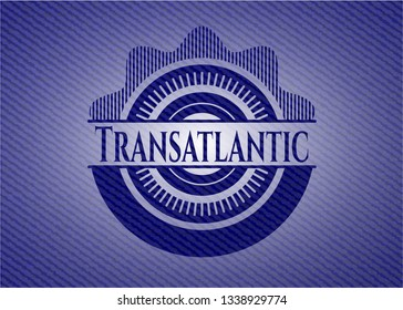Transatlantic with jean texture