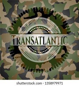 Transatlantic on camo pattern