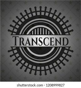 Transcend black emblem. Vintage.