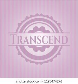 Transcend pink emblem