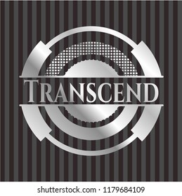 Transcend silver badge or emblem