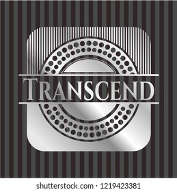 Transcend silvery shiny badge