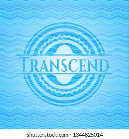 Transcend water representation emblem.